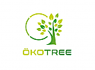 Ökologie, Zeichen, Signet, Symbol, Baum, C