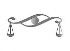 §, Zeichen, Signet, Symbol, Waage, Auge, Rechtsanwalt