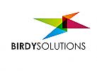Zeichen, Symbol, Signet, Logo, Polygon, IT, Vogel, Flügel