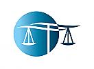 §,  Zeichen, Symbol, Signet, Logo, Anwalt, Rechtsanwalt, Waage, Kreis