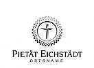 Logo, Kreuz, Pietät, Bestattungsunternehmen,
