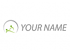 Ökologisch, Zwei Personen, Massage, Logo