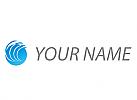 Wellen und Kreis, Kugel, Logo