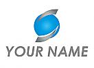 Kugel und Pfeile Logo