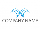 Zwei Flügel Logo