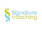 §, Zwei Menschen, zweifarbig, Zeichen, Symbol, Signet, Logo, Coaching, Consulting, Rechtsanwalt, Steuerberater