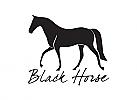 Zeichen, Symbol, Signet, Logo, Pferd, Dressur, Rennpferd, elegantes Logo