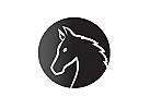 Zeichen, Zeichnung, Symbol, Signet, Logo, Pferd, Kopf, Knight, Chess, Moderne Logos, online Logo