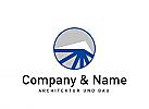 Logo, Bau, Bauwesen, Architektur, Immobilien, Rohbau