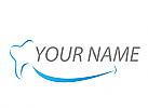Ökologisch, Zähne, Zahnärzte, Zahnmedizin, Zahnpflege, Zahn, Lächeln, Logo
