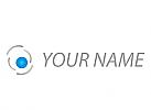 Auge, Optiker, Augenarzt Logo