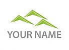 Dächer, Häuser, Logo