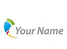 Spirale, Farbig, Maler, Logo