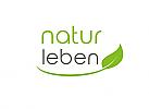 Ökologie, Zeichen, Symbol, Signet, Logo, Natur, Smile