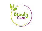 Zweifarbig, Zeichen, Signet, Symbol, Logo, Kosmetik, Wellness, Arztpraxis, Natur