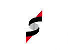 Logo, Initial S mit Pfeilen