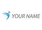 Öko, Zeichen, Zeichnung, Person, Bewegung, Fitness, Sport, Logo