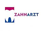 Zähne, Zahnärzte, Zahnmedizin, Zahnpflege, Zahnarzt, Zahn, zweifarbig, Logo