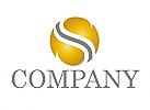 Kugel, Buchstabe S, Logo