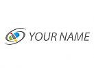 Kreise und Rechtecke, Logo