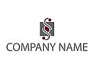 Paragrafzeichen, Rechtsanwalt, Steuerberater, Logo