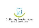 Logo, Zahn, Mund, lachen, Zahnarzt, Zahnarztpraxis