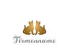 Logo, Marke, Zeichen, Krone, Katzen, cat care, kings Cat