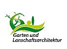 Logo, Markenzeichen, Garten und Landschaftsarchitekt, Landschaftsbau, Gärtnerei, Landschaft