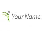 Öko, Zeichen, Zeichnung, Symbol, Signet, Person in Bewegung, Fitness, Sport, Logo
