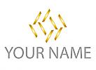 Zeichen, Zeichnung, Viele Rechtecke, Goldstücke, Logo