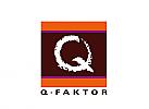 Logo, Zeichen, Marke, Initial Q