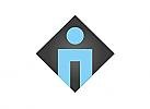 Zeichen, Signet, Symbol, Logo, Mensch, Abstrakt, Modern