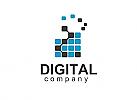 ä  Medien, Marketing, Technologie, Video, Digital, Daten, Entwicklung, Spiel, Audio Logo