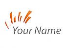 Zeichen, Zeichnung, Symbol, Signet, Sonne, Stern Logo