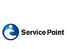 Logo, Markenzeichen, Service Point, Dienstleistung, Beratung, Consulting, Coaching