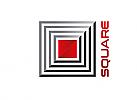 Zeichen, zweifarbig, Signet, Square, Logo, Modern