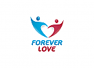 Ö, Zwei Personen als Herz, Beratung Logo