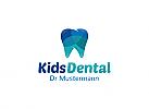 Ö, Zähne, Zahnärzte, Zahnmedizin, Zahnpflege, Zahnarzt, Zahn, Kinderzahnarzt, bunt Logo