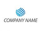 Zeichen, Zeichnung, Wellen, Kugel, Erdball, Logo