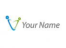 Ökopraxis, Zwei Personen, Menschen Logo