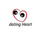 Zeichen, Marke, Herz, Augen, Paartreffen, Partnerwahl, Partnersuche