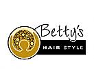 Zeichen, Frisörladen, Friseursalon, Hairstylistin