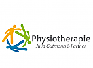 Zeichen, Marke, drei Menschen, Gruppentherapie, Gruppe,  Physiotherapie, Gruppengymnastik