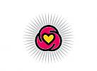 Zeichen, Herz, Yoga, Freundschaft, Spirale
