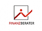 Zeichen, zweifarbig, Signet, Symbol, Logo, Geld, Finanzen, Steuerberater, Investment