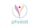 Zeichen, Signet, Symbol, Physiotherapie, Orthopädie, Arztpraxis