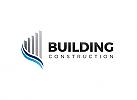 Ö, Wolkenkratzer, Skyline, Wohnungen, Immobilien, Bau, Investition Logo
