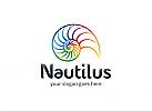 Ö, Nautilus, Spiralen, Schnecke, Marketing, Beratung, kreativ, Tier Logo