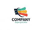 Ö, Quelle, Pfeile, Richtung, Daten, Diagramm, Kapital Logo