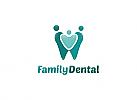 Ö, Zähne, Zahnärzte, Zahnarztpraxis, Logo, Zahn, Familie, Herz, Liebe, Logo